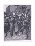 O'Connell Returning Home from Prison Ad 1844 Giclee Print by Gordon Frederick Browne