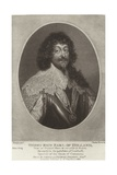 Henry Rich, Earl of Holland Giclee Print by Sir Anthony van Dyck
