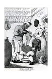 Massacar Oil, an Oily Puff for Soft Heads, 1814 Giclee Print by Thomas Rowlandson