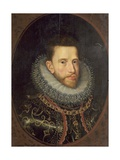 Archduke Albrecht of Austria, C.1599-1600 Giclee Print by Frans II Pourbus
