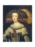 Portrait of Anna Maria, or Marianna of Austria Giclee Print