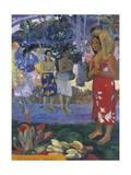 Ia Orana Maria Stampa giclée di Paul Gauguin