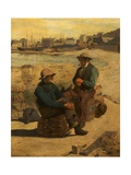 Old Salts, Whitby, North Yorkshire, 1879 Giclee Print by John Herbert Evelyn Partington