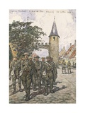 Flanders Front, Gate of Loo Giclee Print by Jean-louis Lefort