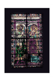 Window with Two Saints Giclee Print by Lorenzo Ghiberti