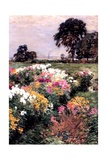 A Display of Flowers, 1903 Giclee Print by Willard Leroy Metcalf