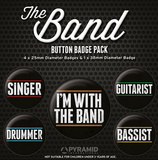 The Band Badge Pack Badge