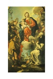 Madonna and Saints Giclee Print by Giovanni Antonio Guardi