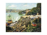 Across the River, New York, C.1910 Giclee Print by Ernest Lawson