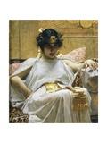 Cleopatra, Circa 1888 Giclée-tryk af John William Waterhouse