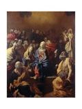 Pentecost Giclée-tryk af Giovanni Lanfranco