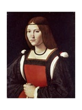 The Lady in Red Giclee Print by Giovanni Antonio Boltraffio