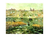 Harlem River, C.1913-15 Giclee Print by Ernest Lawson