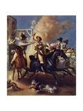 John Gilpin's Ride Giclee Print by Thomas Stothard