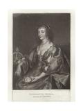 Henrietta Maria Giclee Print by Sir Anthony van Dyck
