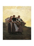 Hark! the Lark, 1882 Giclee Print by Winslow Homer