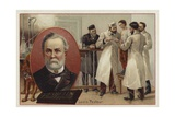 Louis Pasteur, French Chemist and Microbiologist Lámina giclée