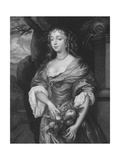 Mrs Middleton Giclee Print by Sir Peter Lely