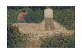 Two Stonebreakers, C.1881 Giclee Print by Georges Seurat