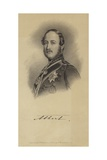 Portrait of Albert, the Prince Consort Giclee Print by Franz Xaver Winterhalter