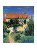 Red Roof Giclee Print by Federico Zandomeneghi