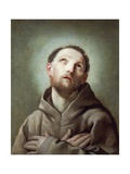 St Francis Giclee Print by Guido Reni