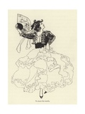 To Dance the Romalis Giclee Print by René Bull