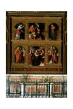 Polyptych of Novara Giclee Print by Gaudenzio Ferrari