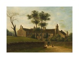 Oakenrod Hall, Rochdale, Lancashire, 1885 Giclée-tryk af Edward Beaumont