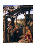 Adoration of Shepherds Giclee Print by Boccaccio Boccaccino