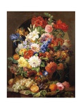 Composition of Flowers, 1839 Giclee Print by Joseph Nigg