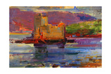 Kisimul Castle and Vatersay, 2012 Giclee Print by Peter Graham