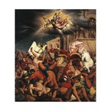 Martyrdom of Saint Catherine Giclee Print by Jacopo Bassano