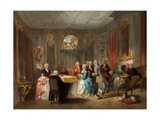 A Royal Musical Party, 1860 Giclee Print by Herman Frederik Carel Tenkate
