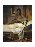 Death of Cleopatra, 1874 Giclee Print by Jean Andre Rixens