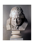 Head of Pope Clement XIII, 1783 Giclee Print by Antonio Canova
