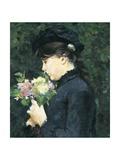 Portrait of Eleonora Tommasi Giclee Print by Silvestro Lega