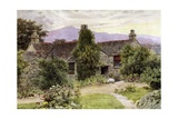 Dove Cottage, Grasmere Giclee Print by Alfred Robert Quinton