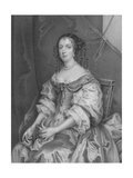 Catherine of Braganza Giclee Print by Sir Peter Lely