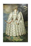 Queen Elizabeth I Giclee Print by Marcus, The Younger Gheeraerts