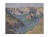 Port-Domois, Belle-Isle, 1887 Giclee Print by Claude Monet