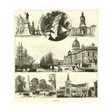 Dublin Giclee Print