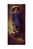 Portrait of a Child Giclee Print by Luigi Nono