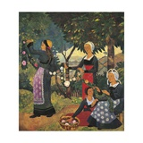 Garland of Roses, 1898 Giclee Print by Paul Serusier