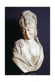 Bust of Young Woman Giclee Print by Adriano Cecioni