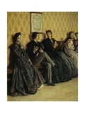 Dance Lesson, 1865 Giclee Print by Filippo Carcano