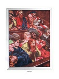 The Jury Giclee Print by John Byam Liston Shaw