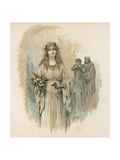 Ophelia from Hamlet Giclee Print by Henry Marriott Paget