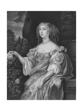 Henrietta, Countess of Rochester Giclee Print by Sir Peter Lely