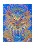 Kaleidoscope Cats VI Giclee Print by Louis Wain